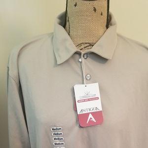 Mens Moisture Wicking Antigua Golf shirt